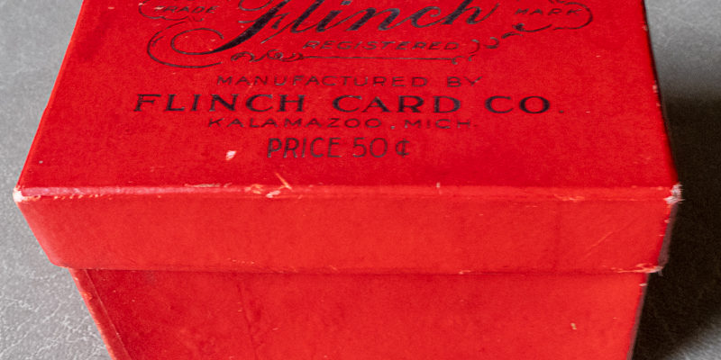 SOLD) Antique Flinch Card Game 1903 Edition - THE CLOSET