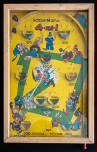 (SOLD) Poosh-M-Up Jr Vintage 1930s Pinball
