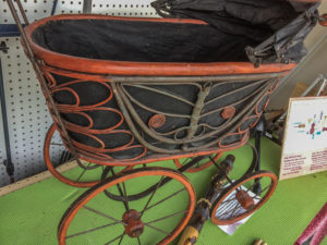 Antique Doll Stroller