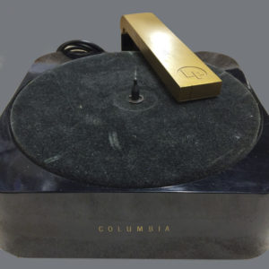 Vintage Columbia LP Record Player