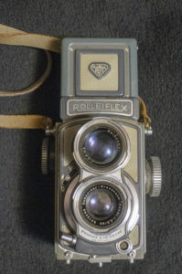 "(SORRY - THIS SOLD) Rolleiflex ""Baby"" 4x4 TLR"